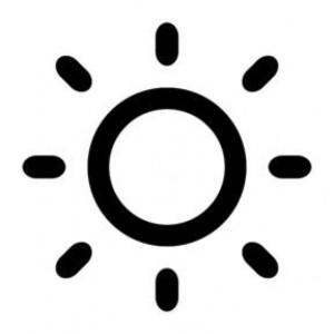 black-sun-vector_318-10905